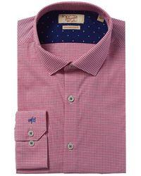 Original Penguin Heritage Slim Fit Dress Shirt - Pink