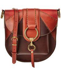 Frye - Ilana Color Block Saddle - Lyst