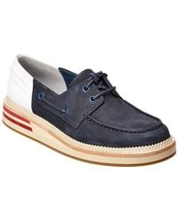 Sperry Top-Sider - Seaford Leather Boat Shoe - Lyst