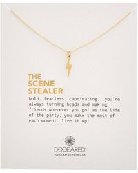 Dogeared - Scene Stealer 14k Plated Necklace - Lyst