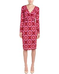 Basler Sheath Dress - Red