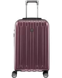 Delsey Helium Titanium Expandable Carry On - Purple