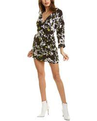 Alice + Olivia Ophelia Mini Dress - Black