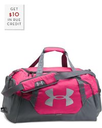 Under Armour - Undeniable Duffle 3.0 Md With $10 Rue Credit - Lyst