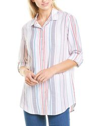 Drew Cassidy Linen-blend Shirt - White