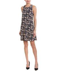 Cece by Cynthia Steffe - Ivy Forest Twist Back Shift Dress - Lyst