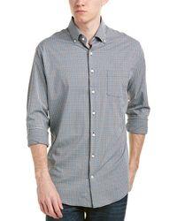 758f8a14 Peter Millar Nanoluxe Easycare Woven Shirt in Blue for Men - Lyst