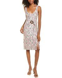 Morgan Lane Makenna Sheath Dress - Pink
