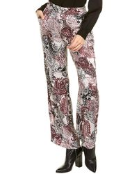 Nine West Elasticized Pant - Multicolor
