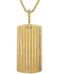Roberto Coin 18k 0.15 Ct. Tw. Diamond Necklace - Metallic