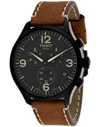 Tissot T-sport Chronograph Xl Black Dial Mens Watch