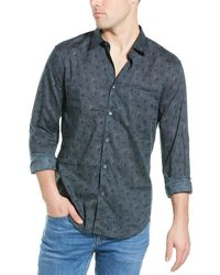 John Varvatos Slim Fit Shirt - Blue