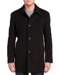 Cole Haan - Wool & Cashmere-blend Top Coat - Lyst