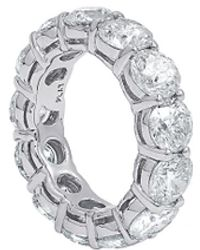 Diana M. Jewels . Fine Jewellery 18k 3.52 Ct. Tw. Diamond Ring - Metallic