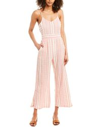 Raga Candy Stripes Jumpsuit - Red