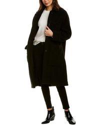 Woolrich Hazelton Wool-blend Coat - Black