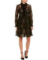 Chloé Lace A-line Dress - Black