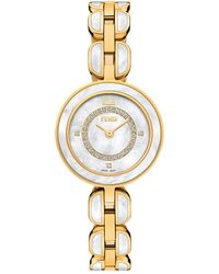 Fendi My Way Diamond Watch - Metallic