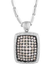 Roberto Coin 18k 1.01 Ct. Tw. Diamond Necklace - Metallic