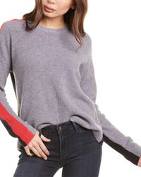 Velvet By Graham & Spencer Polly Cashmere Jumper - Grey