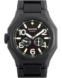 Nixon Men's Stainless Steel Watch - Black