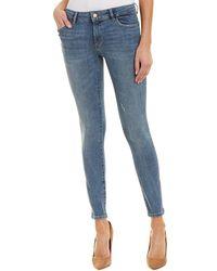 DL1961 Premium Denim Florence Delano Instasculpt Skinny Leg - Blue