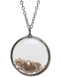 Adornia - Fine Jewelry Silver Necklace - Lyst