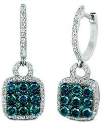 Le Vian ? Grand Sample Sale 14k Vanilla Gold? 1.29 Ct. Tw. Diamond Earrings - Multicolour