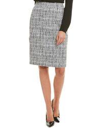Lafayette 148 New York Pencil Skirt - Black