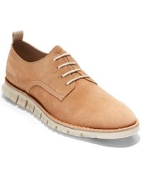 Cole Haan Zerogrand Out Suede Oxford - Multicolor