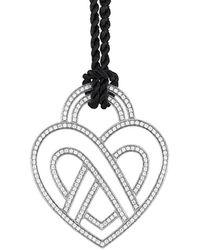 Poiray 18k 3.75 Ct. Tw. Diamond Toggle Necklace - Metallic