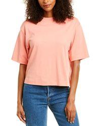 Vince Wide Sleeve Crop T-shirt - Multicolor