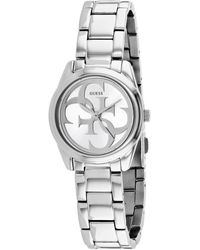 Guess S Analogue Quartz Watch With Stainless Steel Strap 8431242947990 - Metallic