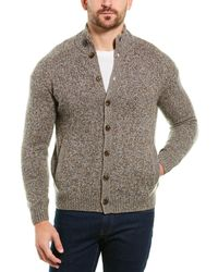 Brooks Brothers Wool-blend Cardigan - Brown