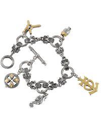 Konstantino Gaia 18k & Silver Bracelet - Metallic