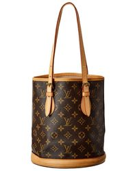 Louis Vuitton Monogram Canvas Bucket Petite - Brown
