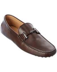 Tod's Tod?s Gommini Leather Loafer - Brown