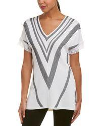 St. John Wool-blend Sweater - White