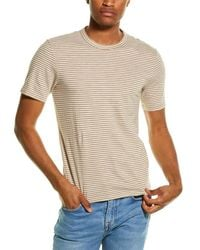 Theory Essential T-shirt - Brown