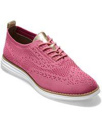 Cole Haan Og Grand Wingtip Oxford - Pink