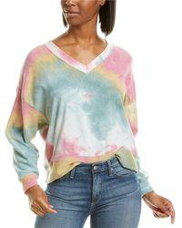 Ariella Tie-dye Sweatshirt - Pink