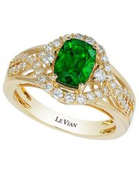 Le Vian - ® 14k Yellow Gold 1.76 Ct. Tw. Diamond & Chrome Diopside Ring - Lyst