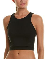 New Balance 24/7 Cropped Fitted Tank - Black