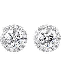 Diana M. Jewels - . Fine Jewelry 18k 2.15 Ct. Tw. Diamond Studs - Lyst