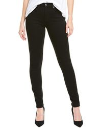 7 For All Mankind 7 For All Mankind B(air) Black High-rise Skinny Leg Jean
