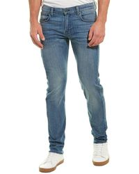 7 For All Mankind 7 For All Mankind Rowdy Slimmy Squiggle - Blue