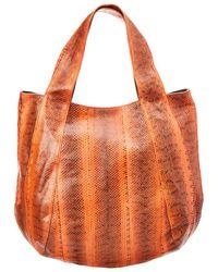 Beirn Jenna Tote Hobo Bag - Orange