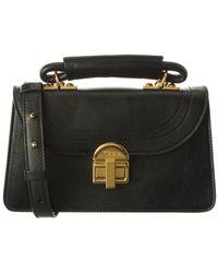 Marni Juliette Leather Handbag - Black