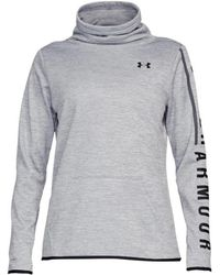 Under Armour - Women's Armour Fleece® Graphic Twist Pullover - Lyst