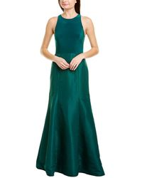 Alfred Sung Gown - Green